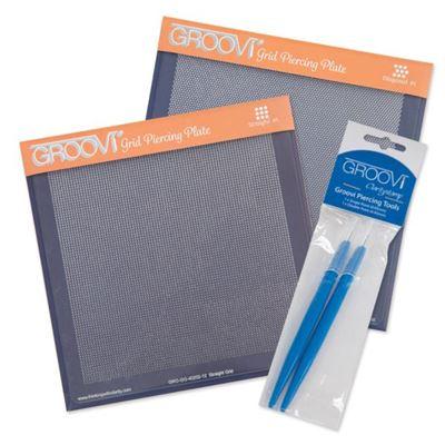 Picture of Groovi Piercing Grid Plates & Tools Set (Multibuy Saving)