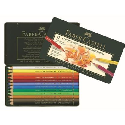 Picture of Faber Castell Polychromos Artist Pencils 12
